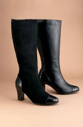 how to make knee high boots tighter