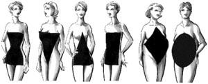 bridal dresses body shapes